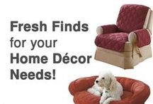 Home Decor & Stylish Accents / Shop hundreds of home decor and accents to add a stylish touch to your home.