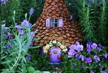 Fairies and Gnomes / Fairies and gnomes and their houses, gardens, and more