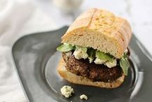 Vegetarian burger / fritter recipes / by Becca @ Amuse Your Bouche