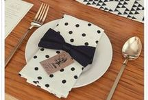 Tablescapes - Black & White
