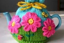 Tea Cosies / Lots and Lots of Tea Cosies to look at.