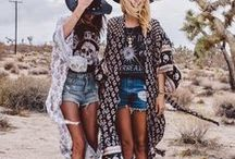 The Modern Hippie / Style inspo for all of the modern hippies out there! Boho chic never looked so good!