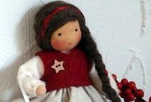 Waldorf Dolls / Really, who can resist a Waldorf doll? They are so cute! <<< Waldorf Dolls >>> Waldorf dolls, big and small, designs and inspiration / by Blue Bells and Cockle Shells