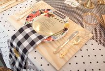 Set the table / by Hailey Anevich
