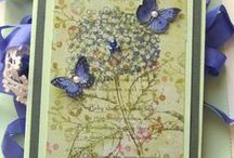 Cards-Just a note, Thank you, thinking of you / by Cindy Wheeler