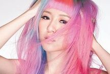 Hair | Pastel Colors / Stunning hair trends -- from pastel mermaid hair, to bold and daring.
