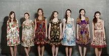 Russian Style / Fashion inspired by Russian culture or reminds me of slavic traditional costumes or by Russian designers.