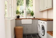 Laundry Spaces / by Heather Roy