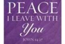 Peace In Christ Church Ideas / Peace in Christ verses, images, banners, etc.