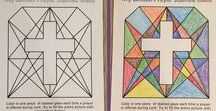 Ideas and Crafts for Lent and Ash Wednesday / A collection of crafts, coloring pages and activities for Lent and Ash Wednesday