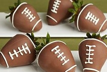 Football Food / Game Day Ideas for Superbowl Party or any Football Party. / by Chris McNeal