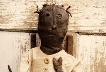 Primitive Dolls - My Favorite!! :-) / I started making very primitive dolls when I was 5 years old....I could look at one, or dream of one, and see the pattern in my head ~ love them! / by Kathie Best Givens ~ My Country Heart ~