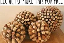 corked / DIY projects made out of wine and champagne corks / by Mandy Monnot