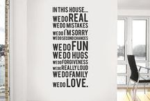 For my Home