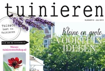 Tuinieren // Website and magazine / Tuinieren/Tuin&Co is a Dutch magazine about gardening. We also have an website http://tuinieren.nl where we daily publish updates about gardening and everything that comes with it.  / by vtwonen tuinieren