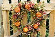 I Love Fall - Halloween, Autumn, Thanksgiving, Everything Fall! / Fall Food, Pumpkins, Mums, Halloween, Fall Wreaths, Decor Thanksgiving - everything related to my favorite season -FALL!