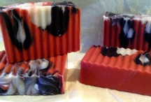 Men's Collection / Here are some of our soaps scented for the manly man: Asian Sandalwood, Black Tie, Blue Man Cool
