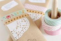 Doilies / paper lace cups litter
