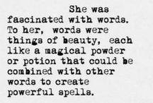 Beautiful words / by Jasmine Brown