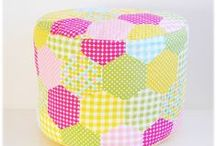 Patchwork & Linens  / Sewing, fabric,fresh,pastel,linens, patchwork,