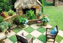 Garden Comfort / Comfortable outdoor project ideas.