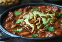 Chili, Stew, Gumbo ............ / Hearty and healthy, delicious chili, stew and gumbo recipes.