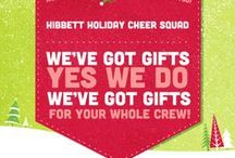 Hibbett Holiday Cheer Squad  / We've got gifts, yes we do. We've got gifts for your whole crew! Shop Hibbett Sports for all your holiday needs. #HibbettHolidayCheerSquad  / by Hibbett Sports®