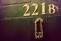 221b Baker St. / I am Sher-Locked!!! Here is a whole lot of Sherlock related pins. Enjoy! / by Sarah Jordan