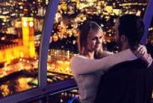 The 24 Dates of Christmas / We've compiled a list of the 24 best places to go on a date in the UK during the holiday season in December! Did you ever go on a date at any of these places? Repin with your stories!