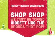 Hibbett Holiday Wish List  / Get everything on your Holiday list at Hibbett Sports! #Hibbett #HibbettHolidayCheerSquad  / by Hibbett Sports®