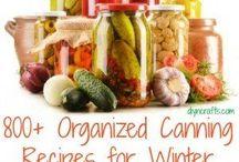 Gardening/canning