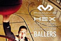 McDavid  / McDavid-made. Hibbett-recommended. #Hex™ gear rules the court. Get yours. Hibbett.com for location.  / by Hibbett Sports®
