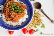 Meatless Recipes: Real Food Style / Celebrating meals without meat (often vegetarian). Perfect for Lent. / by Katie Kimball (Kitchen Stewardship)