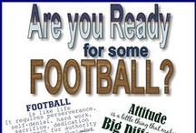Are you ready for some football? / Football Season: College & Pro / by Hibbett Sports®