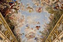 Renaissance elegance / Images of classical revival and artistic blossom. Costumes, art, architecture...