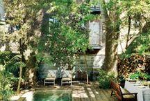"Jardin "" Au Naturel"" / Tableau d'inspiration, ambiance ""Nature"""