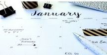 Planner / starting a planner this year. here are some ideas