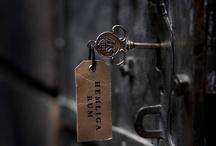 open / unlock the door and come on in