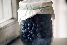 blueberries / my favorite fruit