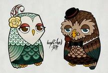 I love owls / by Marybeth Theoret