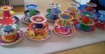 Creatieve workshops / Nicole KidsArt geeft vele creatieve workshops van schilderen, T-shirts en servies pimpen tot vazen en klompen schilderen tot cupcakes versieren en haken en breien tot sieraden maken en schminken.