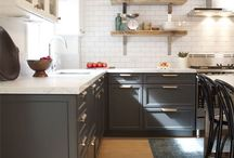 Kitchen bistro / Inspiration for a kitchen to live, cook and bake in