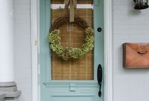 Home Decor- Exteriors / Curb appeal for your home! Exteriors, front doors, front porch, back yard, and patio inspiration and ideas!