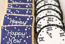 Holidays- New Years Eve / All things to help celebrate the new year! Fun New Year's Eve party ideas!