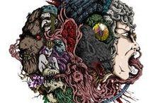 Nel nome dei Grimm - ILLUSTRAZIONI / Tutte le illustrazioni con rispettive copertine del fantasy illustrato NEL NOME DEI GRIMM (http://www.doriannescio.com/index.php/illustraz)