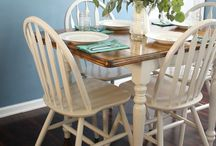 Furniture Makeovers / From drab to fab the best furniture makeovers. Chalk paint, stain, reupholstered, IKEA hacks and more.