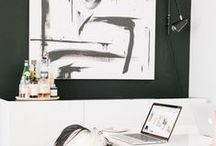 w o r k s p a c e s / offices and studios / by Jessica {The Aestate}