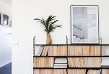 l i b r a r i e s / bookshelves and libraries / by Jessica {The Aestate}