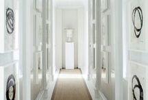 Foyers + Hallways / Foyers and hallways