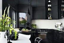 Black Kitchens / Black kitchens